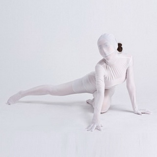 Sexy Carnation Lycra Female Zentai Suit