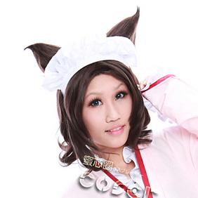 Otome Youkai Zakuro Susuki Hotaru Brown  Short Nylon Cosplay Wig