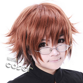 Nurarihyon no Mago Rikuo Brown Short Nylon Cosplay Wig