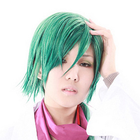 Starry☆Sky Kotarou Hoshizuki Green Semi-long Nylon Cosplay Wig