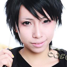 DURARARA!! Orihara Izaya Black Short Nylon Cosplay Wig