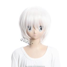 Toaru Majutsu No Index Accelerator White Short Nylon Cosplay Wig