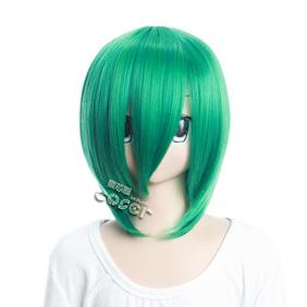 Katekyo Hitman Reborn Furan Green  Short Nylon Cosplay Wig