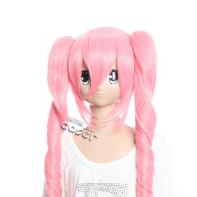 ONE PIECE  Pellona Pink  Long Nylon Cosplay Wig