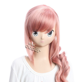 FINAL FANTASY Serah Farron Pink 60cm Long Nylon Cosplay Wig