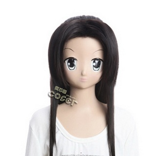 Qins Moon Zhang liang Black Long Nylon Cosplay Wig