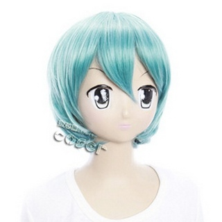 Starry☆Sky Homare Kanakubo Blue Short Nylon Cosplay Wig