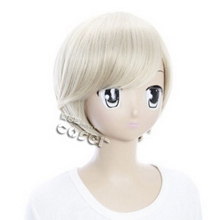 Starry☆Sky Shiki Kagurazaka Golden Short  Nylon Cosplay Wig