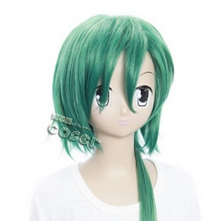 Starry☆Sky Naoshi Haruki Green Semi-long Nylon Cosplay Wig