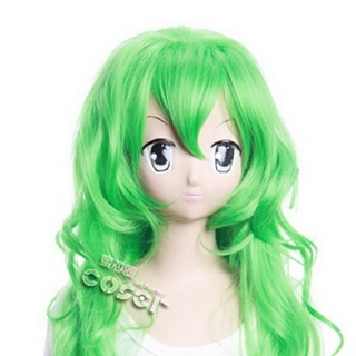 Panty & Stocking with Garterbelt Devil  Panty Green 90cm Long Nylon Cosplay Wig