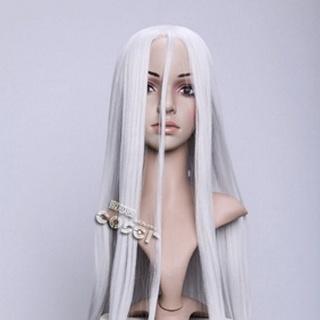 DEADMAN WONDER LAND Shiro White Long Nylon Cosplay Wig