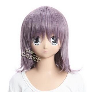 Toaru Majutsu No Index Itsuwa Purple Semi-long Nylon Cosplay Wig