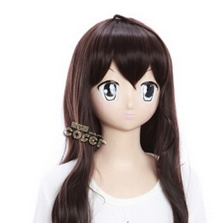 Axis Powers Axis Powers Hetalia Taiwan Brown  Long Nylon Wavy Cosplay Wig