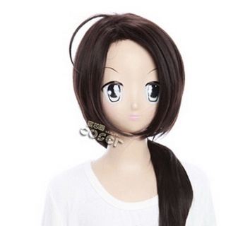 Axis Powers Axis Powers Hetalia China Brown  Long Nylon Cosplay Wig