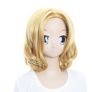 Axis Powers Axis Powers Hetalia France Golden  Short Nylon Cosplay Wig
