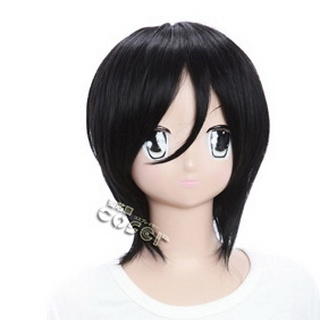 Black Butler Kuroshitsuji Black   Short Nylon Cosplay Wig
