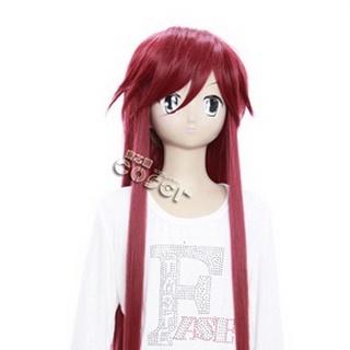 Black Butler Kuroshitsuji Gureru Sutcliffe Red Long Nylon Cosplay Wig