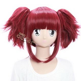 Kuroshitsuji Maylene Meirin Red  Black Butler Short Nylon Cosplay Wig