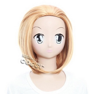 K-ON!  Tainaka Ritsu Golden  Short Nylon Straight Cosplay Wig