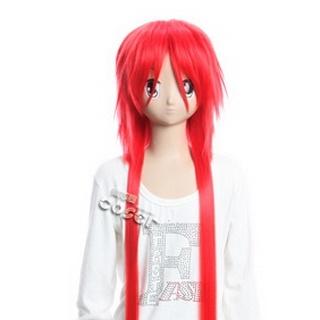 Changan Unreal Night Huangpu Duanhua Red Long Nylon Straight Cosplay Wig
