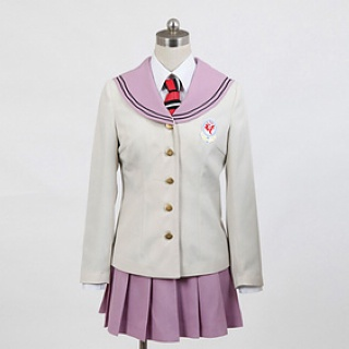 Blue Exorcist True Cross Academy uniform Shiemi Moriyama/Izumo Kamiki Cosplay Costume