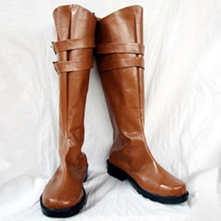 Devil May Cry 4 Credo PU Leather Cosplay Boots