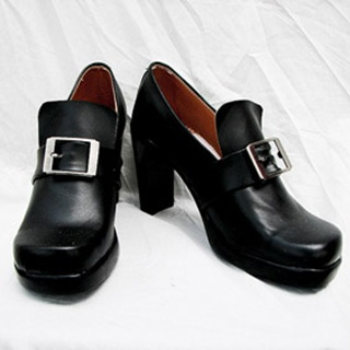Black Butler Ciel PU Leather Cosplay Shoes
