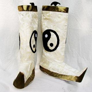 Shin Sangoku Musou Shinki PU Leather Cosplay Boots