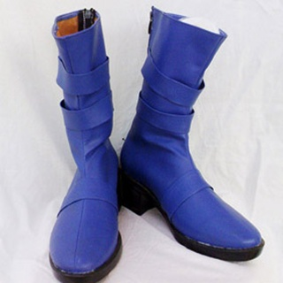 Sailor Moon Ten'ou Haruka PU Leather Cosplay Boots