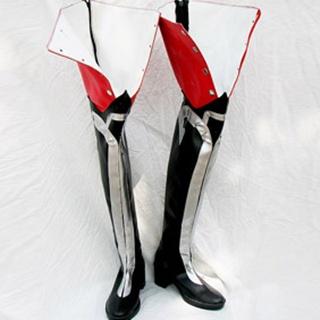 D.Gray-man Jasdevi PU Leather Cosplay Boots