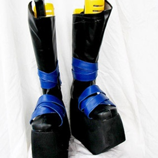 Chinese Paladin/The Legend of Sword and Fairy3 Jintian PU Leather Cosplay Boots