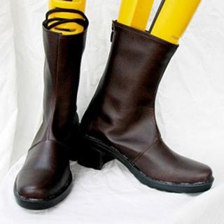 Vampire Knight Kurosu Yuki PU Leather Cosplay Boots