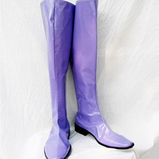 GUNDAM Gihren Zabi PU Leather Cosplay Boots