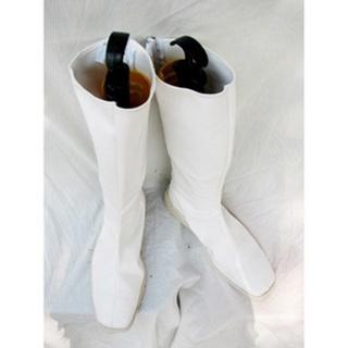 ロングブッツ 合皮  コスプレ靴