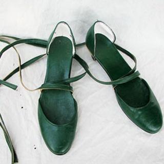 Sailor Moon Kaiou Michiru/Sailor Neptune PU Leather Cosplay Shoes