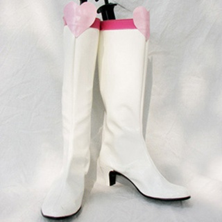 Sailor Moon Chibi Usa/Sailor Chibi moon PU Leather Cosplay Boots