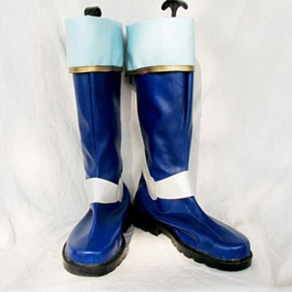 Fire Emblem PU Leather Cosplay Boots