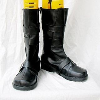 Monochrome Factor Akira Nikaido  PU Leather Cosplay Boots