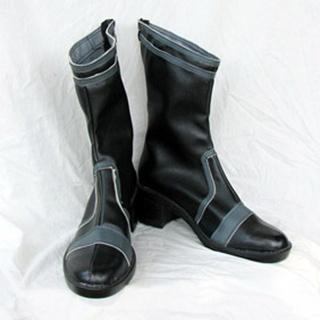 It's a Wonderful World Minamimoto PU Leather Cosplay Boots