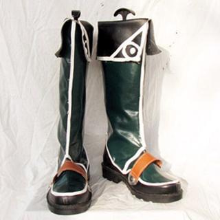 Ys Origin Hugo Fukt PU Leather Cosplay Boots