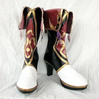 Ys Origin  Zava PU Leather Cosplay Boots