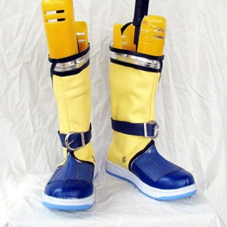 Ys Origin Remona PU Leather Cosplay Boots