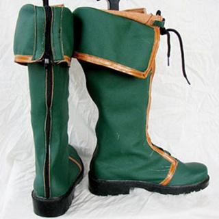 Ys Origin Dino PU Leather Cosplay Boots