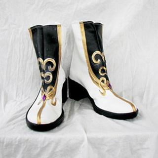 Ys Origin Twins goddess PU Leather Cosplay Boots