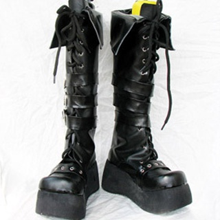 BJD PU Leather Cosplay Boots