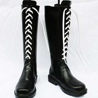FFX-2 Yuna PU Leather Cosplay Boots