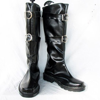 Final Fantasy Ⅷ Sephiroth PU Leather Cosplay Boots