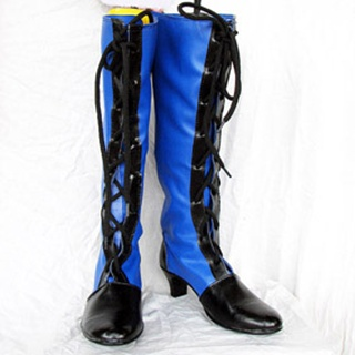 Black Butler Ciel Phantomhive PU Leather Cosplay Boots
