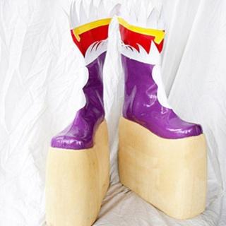 Fantasia Sango4 Zichen  PU Leather Cosplay Boots