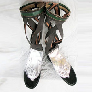 Soulcalibur PU Leather Cosplay Shoes